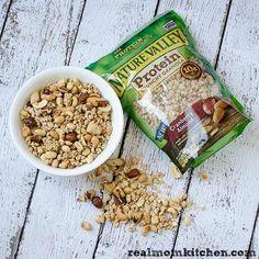 Quick Granola Trail Mix | realmomkitchen.com #NVGranola