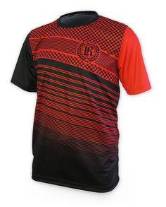 Loose Riders Herren FINISHLINE RED Jerseys Kurzarm.Sportwear,Bike,Radsport Style