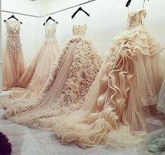 love these big ball gowns