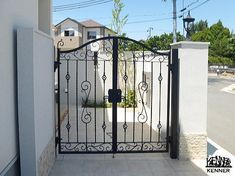 ロートアイアン施工事例:門扉 Gate, Homes, Room, Furniture, Design, Home Decor, Doors, Houses, Portal