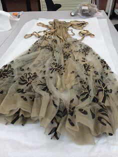 Conservation of a Vionnet Dress | August 25, 2014 | Author: Sarah Glenn | Victoria and Albert Museum