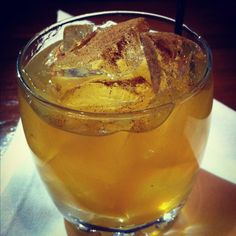 Irish Cider: Jameson, Spiced Rum, and Apple Cider. Just in time for St. Patrick's Day!