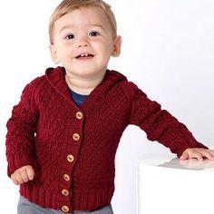 We Like Knitting: Baby Hoodie - Free Pattern