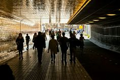 Amsterdam  tunnel Centraal station. Jhh fotography.