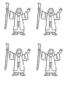 Bible Stick Puppets Bible Craft from www.daniellesplace