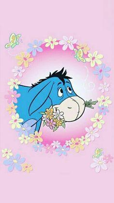 Eeyore discovered by GLen =^● 。●^= on We Heart It Eeyore Images, Eeyore Pictures, Winnie The Pooh Pictures, Winnie The Pooh Drawing, Cute Winnie The Pooh, Winnie The Pooh Friends, Walt Disney Princesses, Disney Minimalist, Betty Boop Cartoon