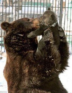Momma loves her baby.
