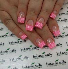 nail tips and tricks Dry Shampoo Nail Art Designs, French Tip Nail Designs, Fingernail Designs, Nail Designs Spring, Acrylic Nail Designs, Nails Design, Design Design, Botanic Nails, French Acrylic Nails