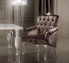 #chair #design #interior #furniture #furnishings #interiordesign #designideas #artdeco #ardeco стул с подлокотниками DV Home Vogue, Vogue_Ach
