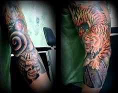 Box Tattoo - Japanese Tattoo  - Tigre - sp011
