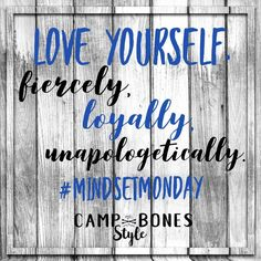 Mindset Monday Quote. Love Yourself. #mindsetmonday #mindset #selfcare Positive Mindset, Positive Affirmations, Monday Quotes, Body Love, Confidence Building, Successful People, Online Work, Self Care, Personal Development
