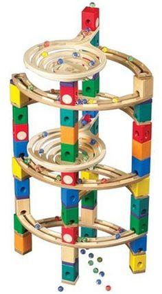 HaPe Quadrilla Kugelbahn Twist Set 846020: Amazon.de: Spielzeug