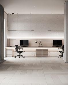 Office Interior Design, Home Office Decor, Office Interiors, Home Decor, Study Room Design, Home Room Design, House Design, Modern Home Offices, Home Gadgets