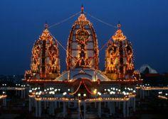 ISKON Temple, New Delhi, India