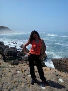 Eu e o meu fotografo privado mas lindo eh eh ...  Portugal ...