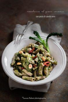 buckwheat maccheroni with black cabbage pesto  http://iocomesono-pippi.blogspot.it/2016/02/maccheroni-di-grano-saraceno-al-torchio.html