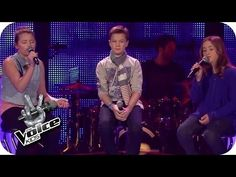 Leonard Cohen - Hallelujah (Simon, Helena, Patrizia) | The Voice Kids 2014 | BATTLE | SAT.1 - YouTube #Hallelujah