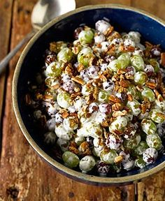 Trisha Yearwood's Grape Salad with Toasted Pecans