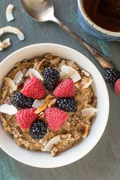 Chai Tea Oatmeal | h