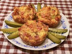 Rohlíkové muffiny