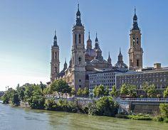 El Pilar, desde el puente de la Almozara.