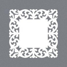 Espelho em Acrilico Decorativo no formato Veneziano