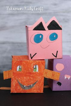 Pokemon Kids Craft -
