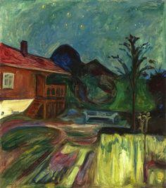 Summer Night, Årsgårdstrand - Edvard Munch 1902