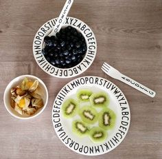 New Fashion Design Letters Pattern Safety Melamine Baby Fedding Dinner Plates Bowl Children Dishes Fruit Plate Knife And Fork