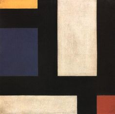 Counter Composition IV Artist: Theo van Doesburg (1883-1931) Completion Date: 1924 Place of Creation: Germany Style: Neoplasticism Genre: abstract Technique: oil Material: canvas
