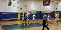 Byram Girls team putting in a great effort against Mt. Arlington.