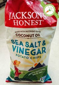 potato chip bag with seal of approval