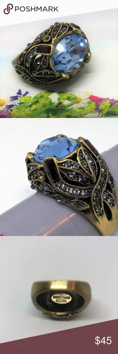 "I just added this listing on Poshmark: Heidi Daus Ring ""April in Paris"" size 10 Swarovski. #shopmycloset #poshmark #fashion #shopping #style #forsale #Heidi Daus #Jewelry"