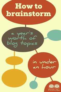 Do you struggle to come up with blog topics? This simple process will help you generate LOADS of blog topics that actually relate to your business.