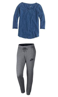 """Untitled #27"" by kennedy-lewis-1 on Polyvore featuring NIKE and J.Crew"