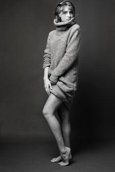 Sweter RINA COSSACK  VITA for Elite Model Management Milano fot.Monika Motor