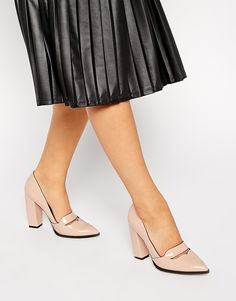 ASOS POLICY Pointed High Heels