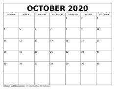 We have October 2020 Calendar Printable and October 2020 Calendar Wallpaper for everyone. Whether you're looking for a October 2020 Calendar Baby design or you need a October 2020 Calendar Floral with holidays to print, you can download October 2020 Calendar Template for free from here. #October2020CalendarWallpaperiPhone #OctoberCalendarPrintableCute #OctoberCalendarPrintableFree October Calendar Printable, November Calendar, Excel Calendar, 2020 Calendar Template, Schedule Printable, Holiday Calendar, Free Printables, Free Calendar