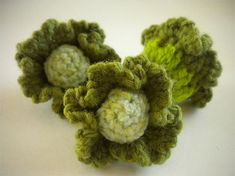 """Free pattern for """"Little Cabbages"""" by Helen's Handmade!"""