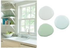 Beautiful blues & greens, perfect for a coastal inspired kitchen