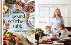 "I am loving this book! ""Around the Southern Table: Peppered Pork Roast with Blue Cheese Grits Recipe"""