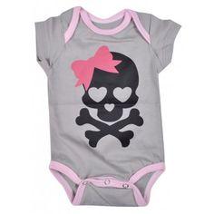 body bebê fashion estampa caveira em suedine nuvem baby & kids. Moda bebê, Moda Infantil, Roupas de Bebê, roupas Infantis, Fashion Baby, Fashion Kids, bebê roupas, roupas de bebê. www.boobebe.com.br