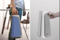 NOVA is more than just an air purifier. This 'nomadic' product can be placed anywhere and everywhere to not only clean the surrounding air of pollen,