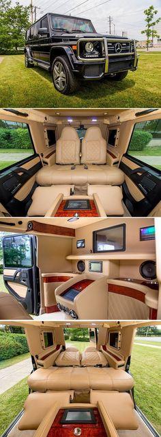 Luxury Lifestyle Description Les seules lettres que vous devez savoir lorsque vous cherchez un VUS de luxe de grande puissance sont AMG. La Mercedes G65 AMG bénéficie d'une puissance de 612 chevaux avec un moteur V12 double turbo et 738 lb-pi de couple.