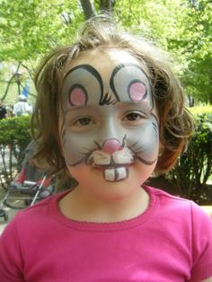 mouse full face paint design
