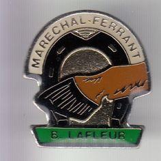 RARE-PINS-PIN-039-S-SPORT-CHEVAL-HORSE-HIPPISME-MARECHAL-FERRANT-LAFLEUR-54-C4