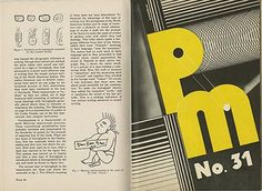 Robert L. Leslie and Percy Seitlin [Editors]: PM [An Intimate Journal For Art Directors, Production Managers, and their Associates]. New York: The Composing Room/P.M. Publishing Co., Volume 3, No. 7: March 1937.