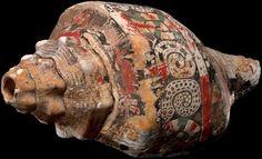 Chupícuaro shell trumpet, 300-900 AD
