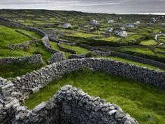 Stone Walls. #Ireland