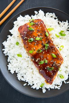 Teriyaki Salmon  - even my kids loved this salmon! So good and easy to make!